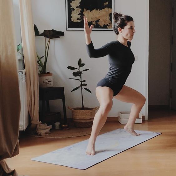 Taller Yoga desde el corazón de la Pelvis