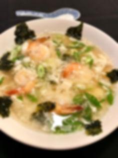 Vietnamese Shrimp Eggdrop Soup