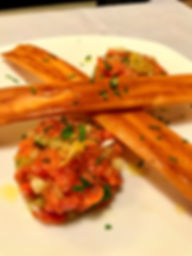 Wild-Caught Salmon Tartar & Puff Pastry