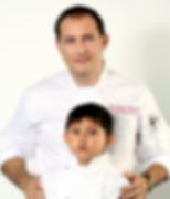 Chef Boyan and his son Nikola