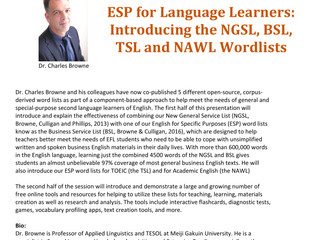 ESP for Language Learners