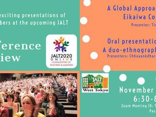 WTJ presents JALT Conference Preview 2020