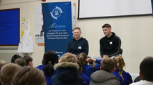 Southend United played visit Year 4
