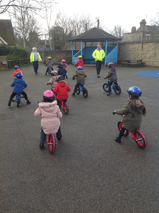 Reception Learn to Ride