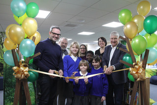 New School Library Opening