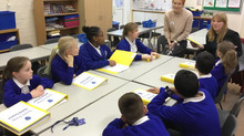 The School Council talk with Focal Point