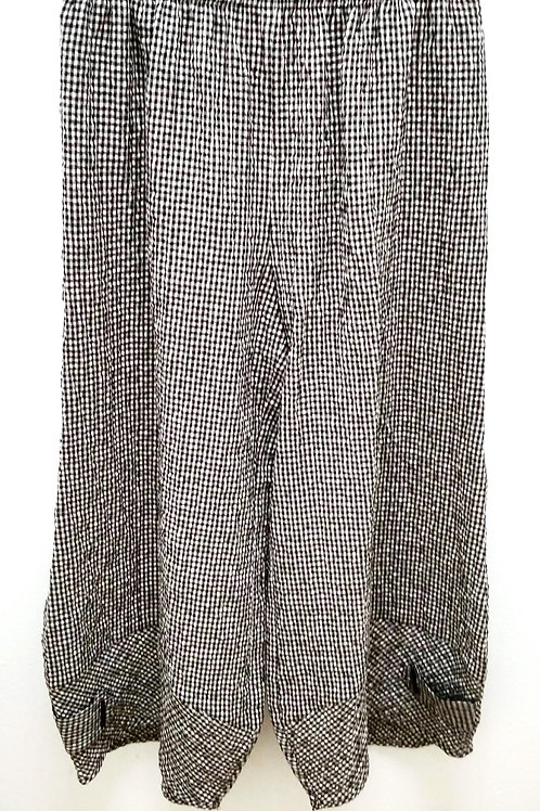 Moonlight Checkered Wide Leg Pant