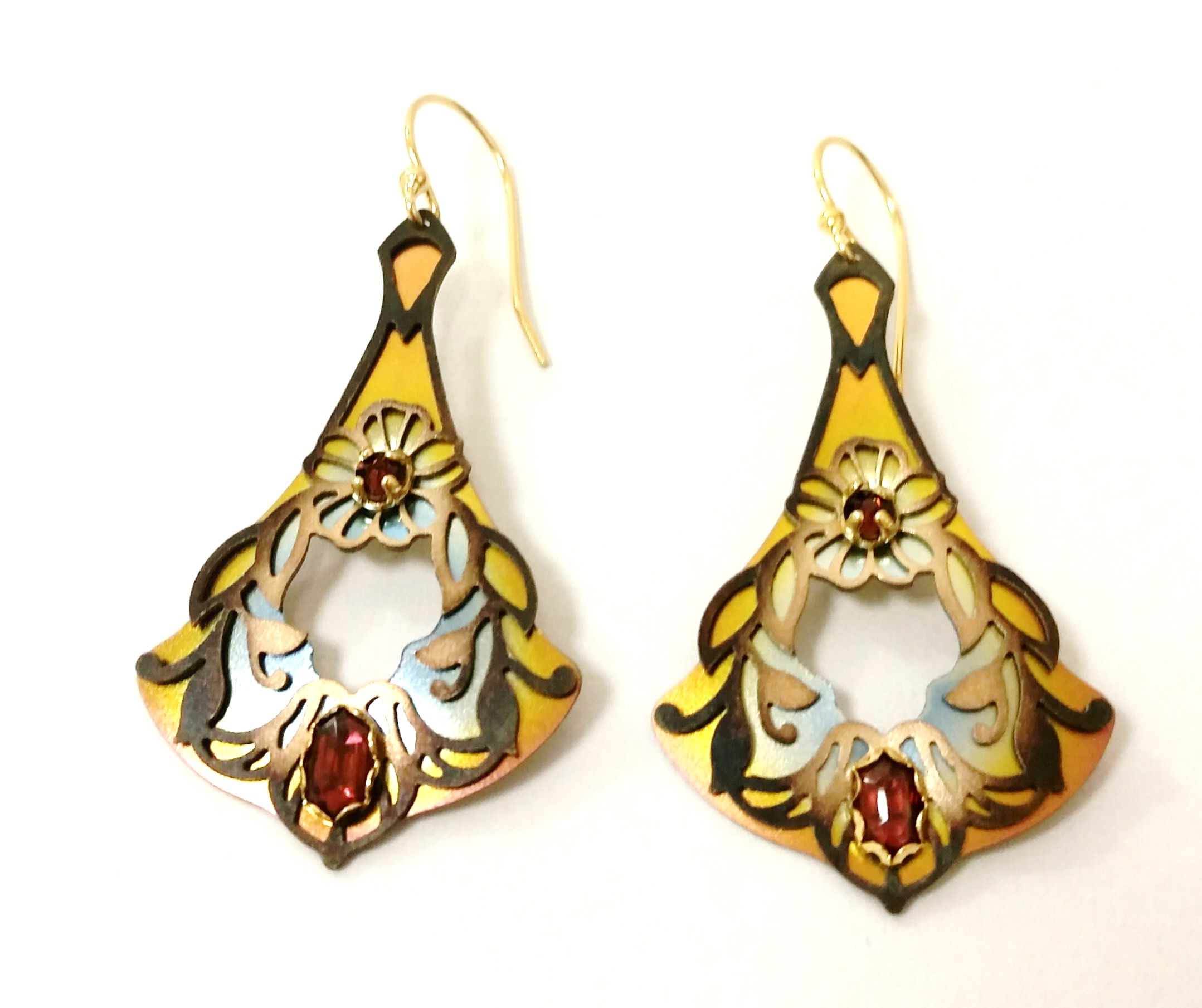 Holly Yashi Tear Drop Earrings