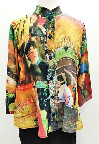 Art To Wear Silk Tops and Kimonos