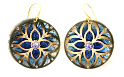 Holly Yashi Disc Earrings