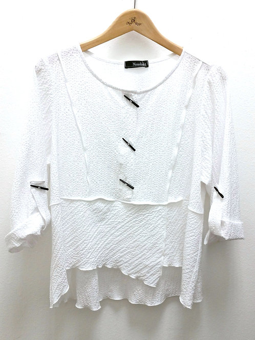 Moonlight Classic Textured Blouse