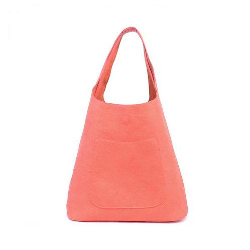 Molly Handbag Set with small tote bag (Reds)