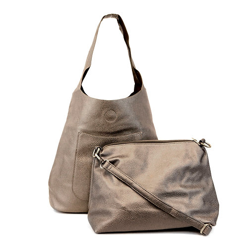 Molly Handbag Set with tote  (Metallics)