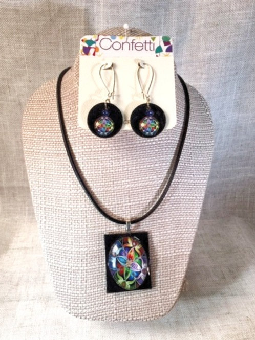 Set Ashbury Necklace and Earrings