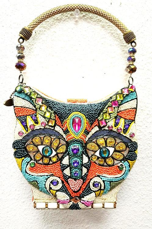 Mary Frances Handbag Colorful CAT