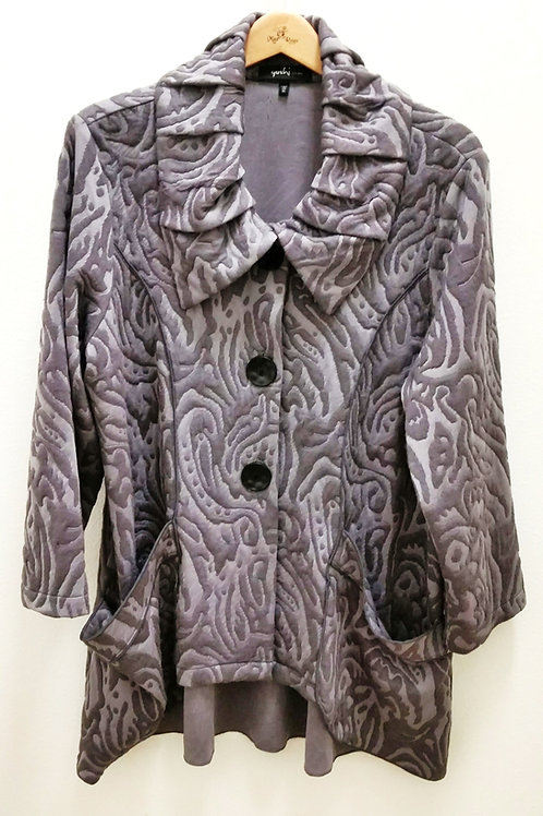 Yushi Grey on Grey Jacket