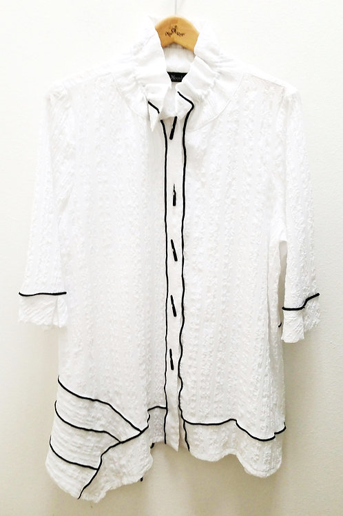 Moonlight Black & White Tunic/ Jacket