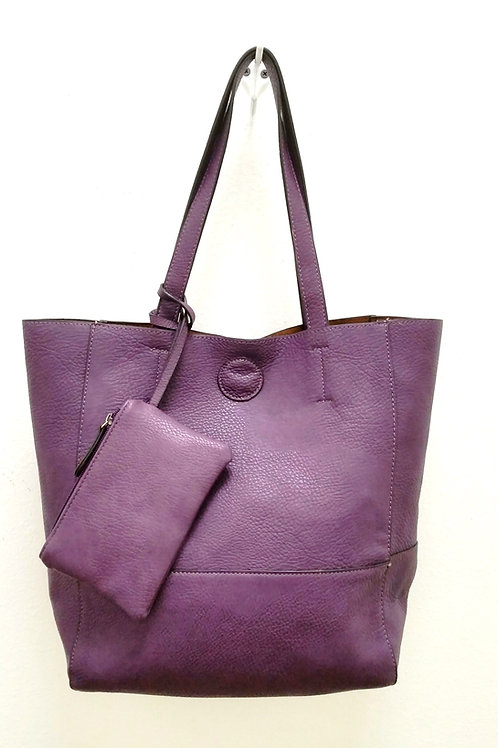 TOTE Bag (Raw Plum)