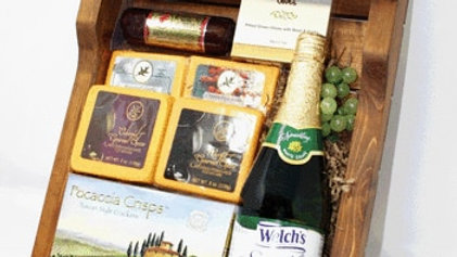 Gourmet Wooden WineTray