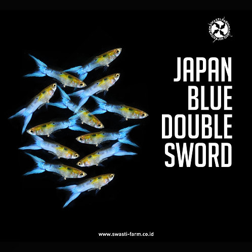 JAPAN BLUE DOUBLE SWORD