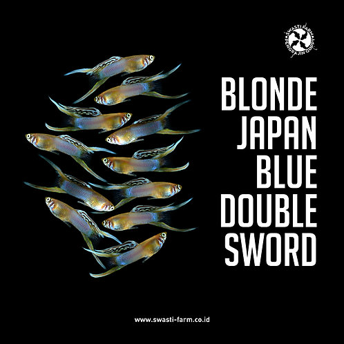 BLONDE JAPAN BLUE DOUBLE SWORD