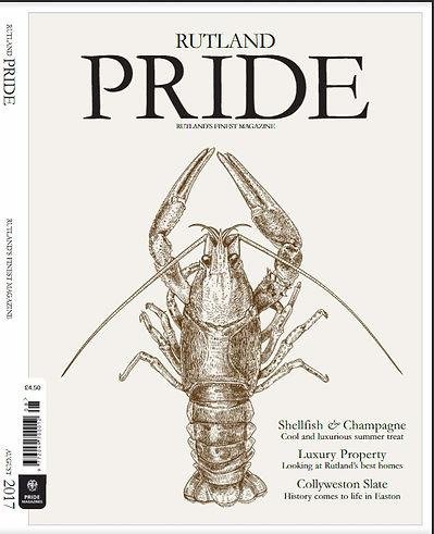 Rutland Pride Magazine cover - feature