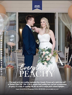Rutland Pride Magazine - styled shoot feature
