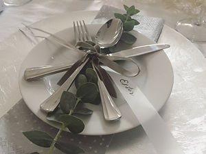 Bespoke Design - White Christmas table