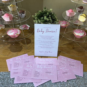 Bespoke Design - Christening