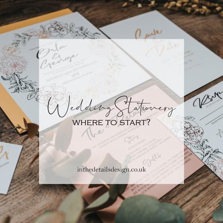 Wedding Stationery ... Where to start?