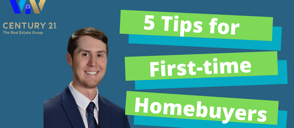 5 Tips for First-time Homebuyers!