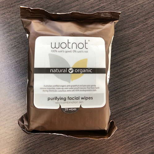 Wotnot - Purifying Facial Wipes
