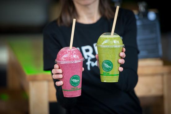 Urban Smoothies - Very Berry & Drama Green !