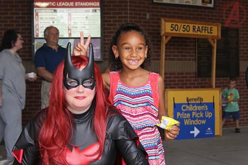 Batwoman & Friend
