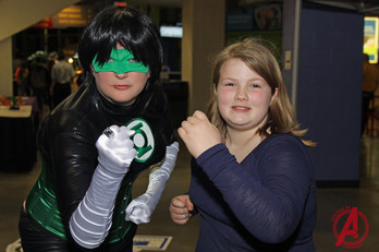 Green Lantern & Friend