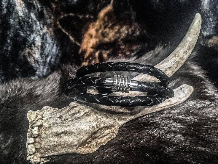 Magnet Clasp Bolo Wrap Bracelet