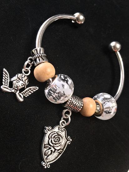 Angel Bangle Bracelet