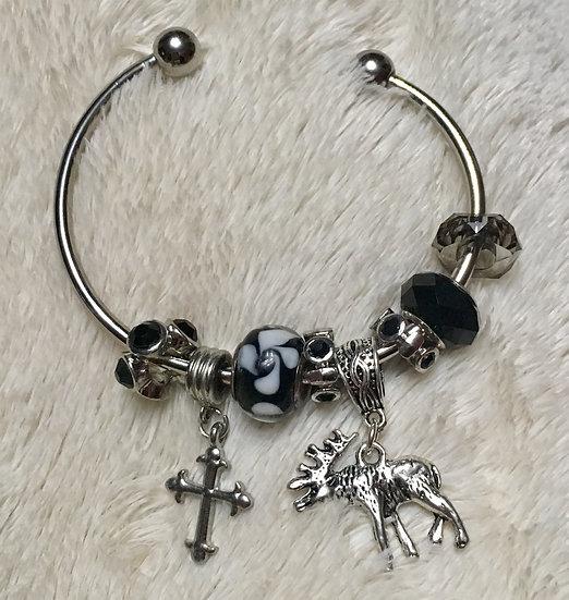 Elk Bangle Bracelet