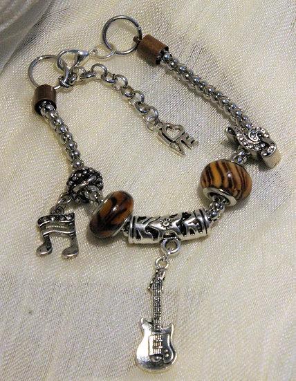 Musical Snake Chain Bracelet