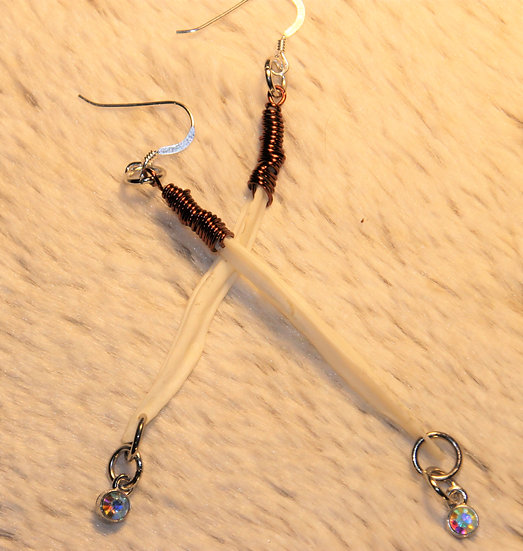 Fox Baculum Earrings