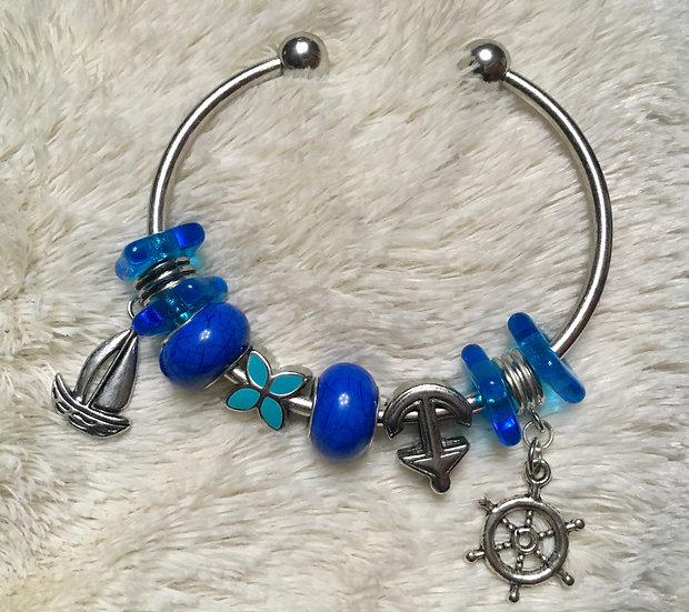 Sea Life Bangle Bracelet
