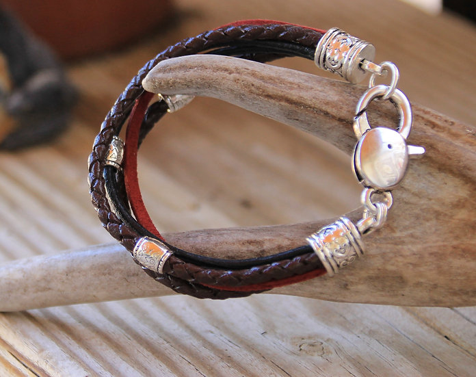 Multi Leather Bracelet
