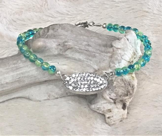 Glass Sparkle Bracelet