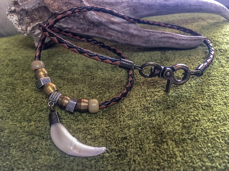2-Tone Bolo Canine Necklace