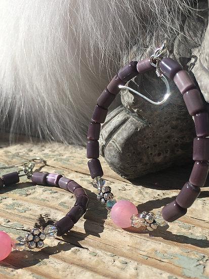Swarovski Crystals & Agate & Cat's Eye