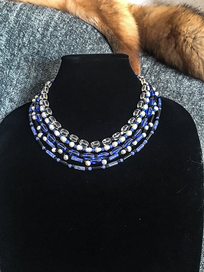 5 Strand Layered Necklace