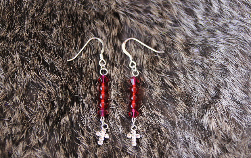 Crystal & Glass Earrings