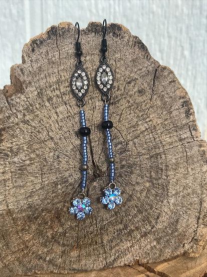 Rhinestone & Crystal Earrings