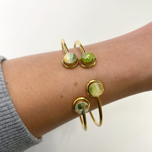 Wild Collection- Green Wave and Peridot