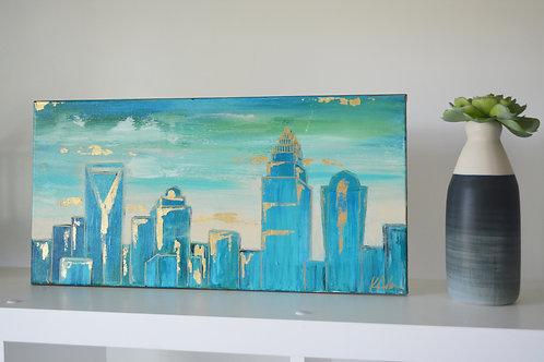 Blue Mint Skyline